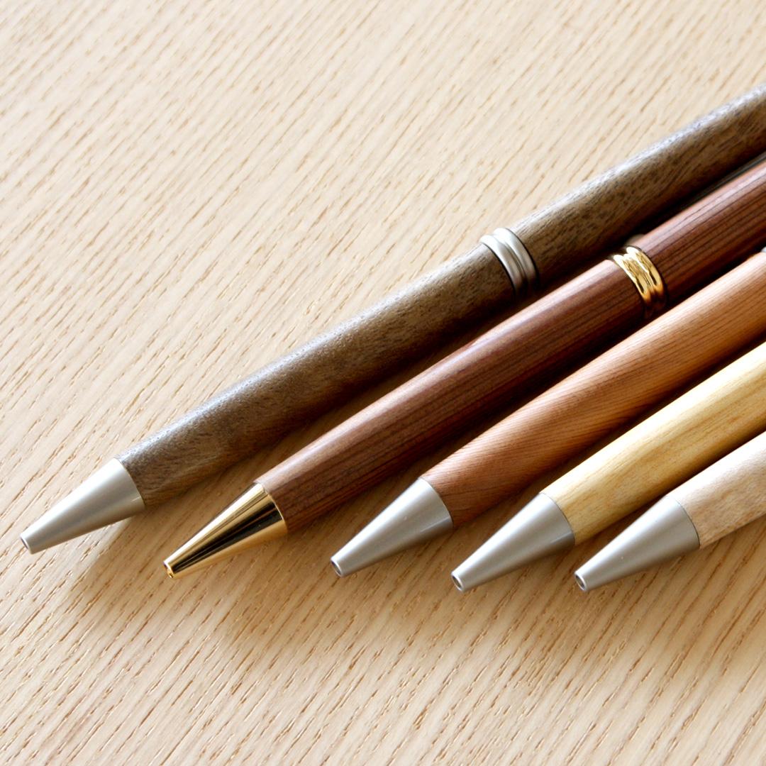 河村寿昌 木のボールペン(赤木、フジキ 他)