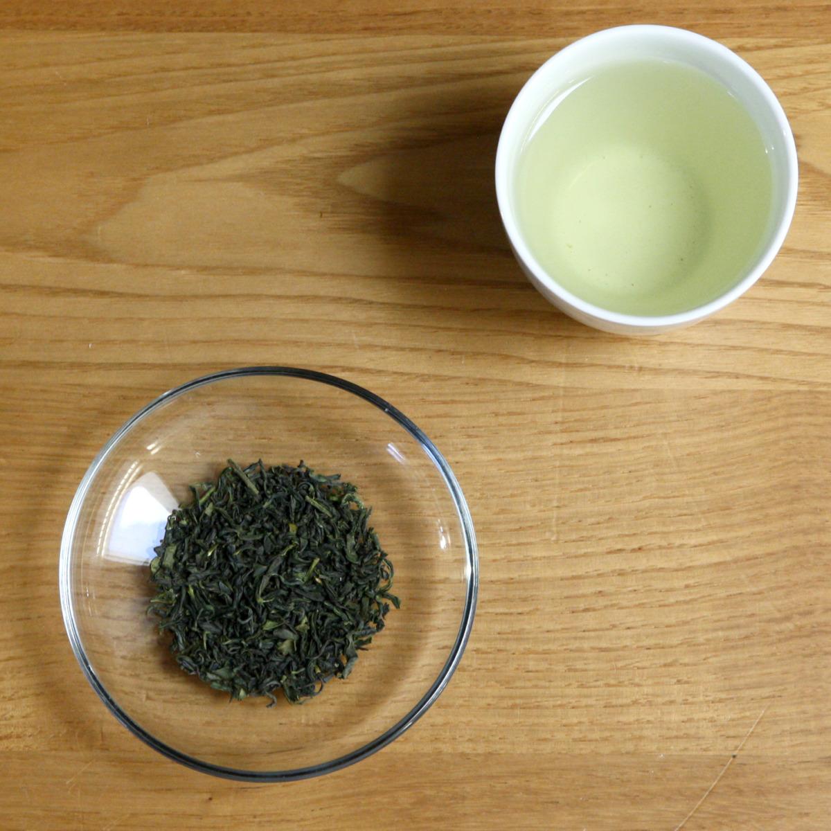 自然茶 熊本その土地に根差した風味 在来種釜炒り製