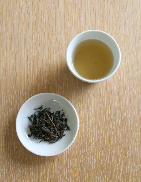 自然茶 山茶ばんばら茶