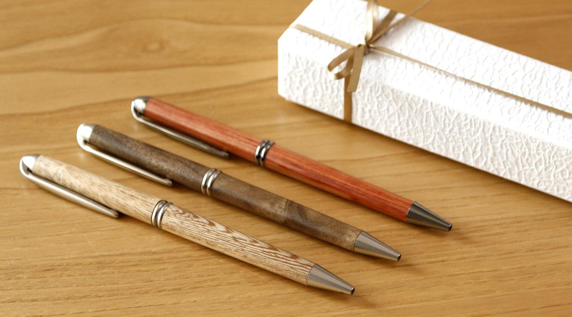 河村寿昌 木のボールペン