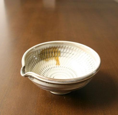 小鹿田焼 五寸片口鉢