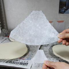 富士皿、箸置きのガイド