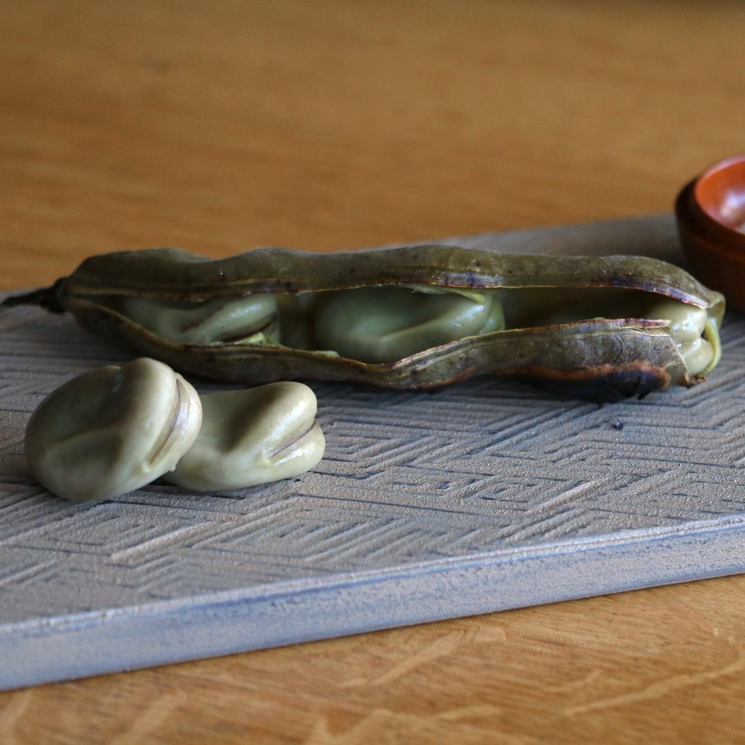 富井貴志 タイル皿
