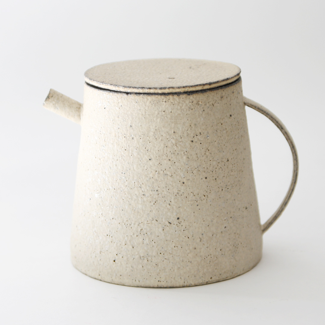 |入荷待ち|遠藤岳 Teapot (台) White