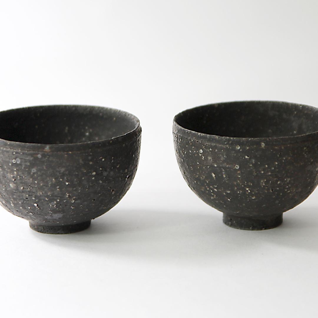 遠藤岳 Small cup (Chahai) Black