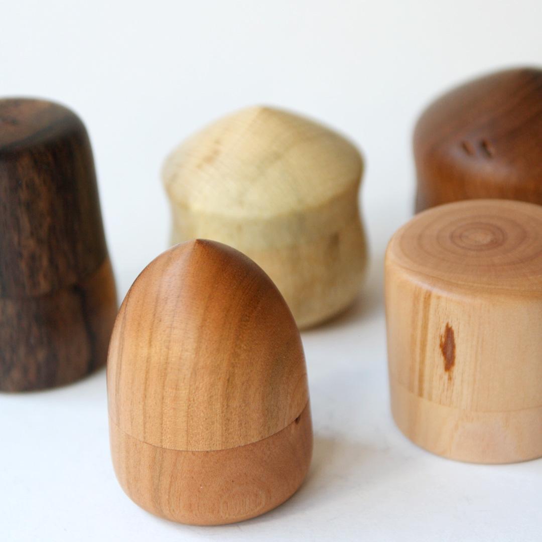河村寿昌 木の小箱
