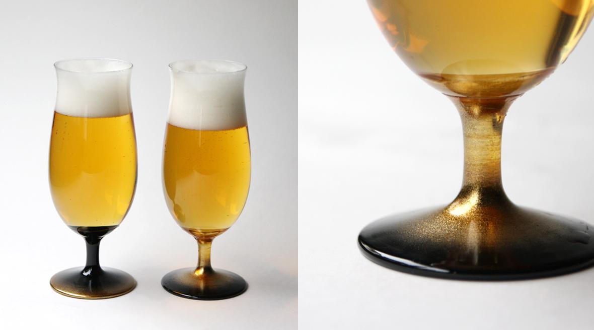 丸嘉小坂漆器店 くつろぎビールグラス